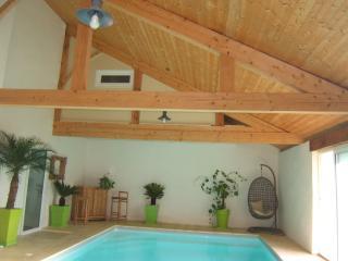villa de charme 10 pers. avec piscine d'interieur - Saint-Geours-de-Maremne vacation rentals