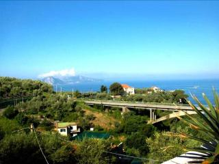 Villa Chiana, pool garden and sea. - Massa Lubrense vacation rentals