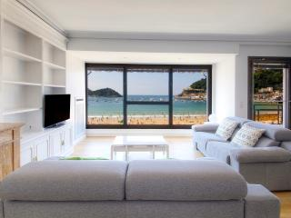 Exclusive 1st line in Concha beach + PARKING+WIFI - San Sebastian - Donostia vacation rentals