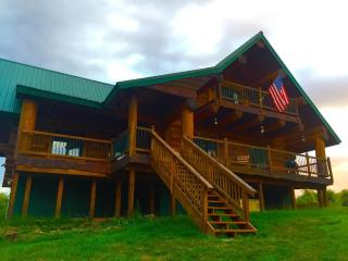 New Listing! Beautifully Crafted 3BR Oswego County Log Home in  Tug Hill Region w/Modern Amenities, Large Front Porch & Far-Reaching Views - Peaceful Location on 27 Private Acres! Near Lakes, Restaurants, Columbia College & More! - Westdale vacation rentals