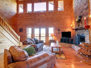 Gorgeous Cabin with Deck and Internet Access - Morganton vacation rentals