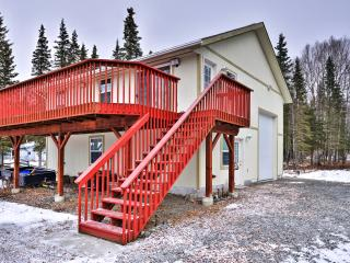 New Listing! 'A Hiada-way' Pristine 1BR Kasilof Apartment w/Wifi, Massive Private Deck & Picturesque Mountain/Water Views - Right on the Kasilof River! Easy Access to Fishing, Lakes & Neighboring Towns! - Kasilof vacation rentals