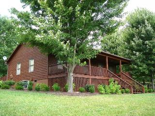 Cainey Hollow Log Cabin-350 Secluded private acres - Elkton vacation rentals
