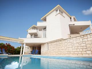 Spacious Modern Villa With 36 Sq m Pool Just 70m From The Beach - Okrug Gornji vacation rentals