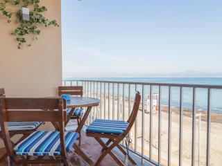 Large apartment in BEACHFRONT - Ca'n Picafort vacation rentals