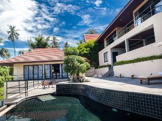 Villa Eveline, Sunset Sea View 3 Bedroom Villa - Ban Bang Makham vacation rentals