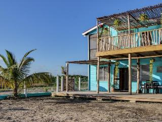 Lagoon-front home with a deck, beach access, bikes & kayak! - Placencia vacation rentals
