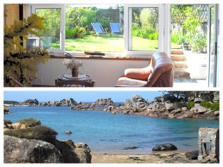 3* Holiday home Ploumanach beach Perros Brittany - Perros-Guirec vacation rentals