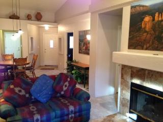 Well laid out smaller Condo, optimally utilizes space giving it a much larger feel CLIFF -ROSE - S068 - West Sedona vacation rentals