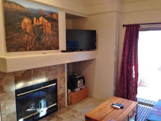 Well laid out smaller Condo, optimally utilizes space giving it a much larger - West Sedona vacation rentals
