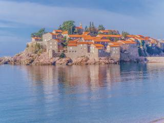 Superb beachfront apartment 10 m from Sveti Stefan - Sveti Stefan vacation rentals
