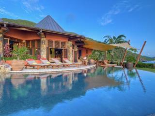Luxury 5 bedroom Virgin Gorda, BVI villa. Private Beach, Chef and Spa/Yoga Pavilion - Nail Bay vacation rentals