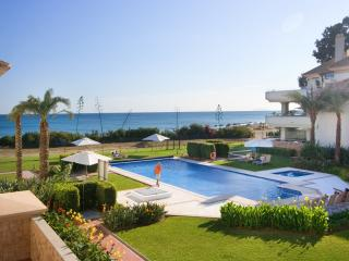 1st Floor luxury beachfront,sea views, heated pool - Cancelada vacation rentals