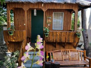 Cute cool Green Kubo near the White sandy beach - Anda vacation rentals
