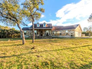 Luxury ranch with private pool & gourmet kitchen, pets OK! - Wimberley vacation rentals