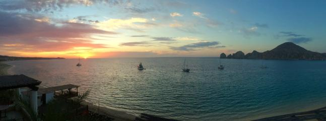 pano sunrise - Casa Dorada Medano 2 & 3  Bed Beachfront Penthouse - Cabo San Lucas - rentals