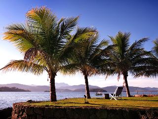 Private beach and pier in a tropical island - Paraty vacation rentals