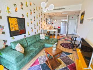 Wonderful 1 bedroom Basaksehir Apartment with Television - Basaksehir vacation rentals