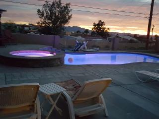 4 Bedroom home New heated pool, spa and lake view - Lake Havasu City vacation rentals