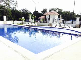 Condo For 6 In Gated Comunity, Pool, Gym, Track. - Playa Maroma vacation rentals