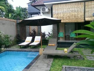 3 bed /bath sleeps 7 pvte pool walk to beach&shops - Sanur vacation rentals