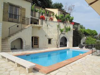 La Colle sur Loup villa fantastic sea view, pool - La Colle sur Loup vacation rentals