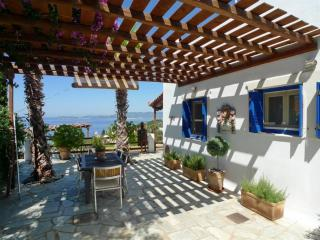 Lovely villa with swimming pool overlooking Aegean - Glossa vacation rentals