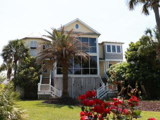 Ocean View Home with Pool, Large Viewing Porches, Guest House, and Pool Table - Isle of Palms vacation rentals