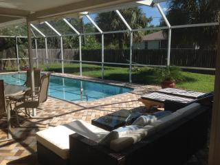 House with salt water pool close to gulf beaches - Port Charlotte vacation rentals