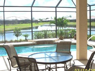 Stunning villa- private pool with LAKEVIEW in Lely - Naples vacation rentals