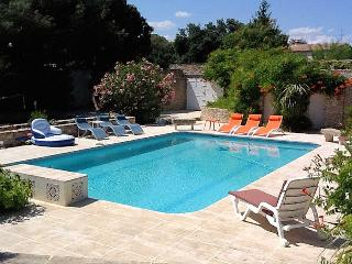 Boissières Gard, Andalusian-style Villa 12p. private pool, 15 km to Nîmes - Nages-et-Solorgues vacation rentals