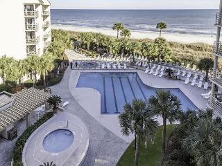 Villamare 3524, 2 bedrooms, Oceanfront, Outdoor & Indoor Pool, Spa, Sleeps 6 - Hilton Head vacation rentals