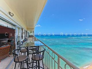 14th floor with Million Dollar Ocean Views, AC, FREE parking and WiFi! - Waikiki vacation rentals