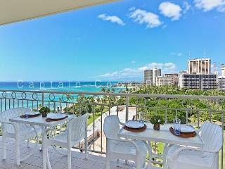 Million Dollar Ocean Views plus FREE Secure Onsite Parking and WIFI! - Waikiki vacation rentals