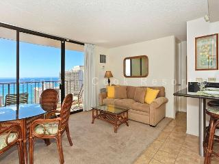INCREDIBLE Ocean views!  Close to beach!  A/C, WiFi, Parking! - Waikiki vacation rentals
