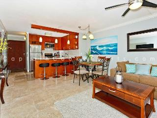 Beautiful 2-bedroom condo, sleeps 6, washer/dryer and free parking! - Waikiki vacation rentals