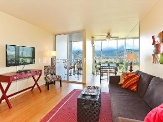Golf Course and Mountain Views!  Monthly Rental/FREE parking/Great Rates! - Waikiki vacation rentals