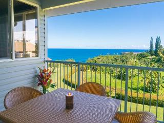 Cliffs 7303: Spacious 1br + loft, great resort amenities, VIEW!  Sleeps 6. - Princeville vacation rentals