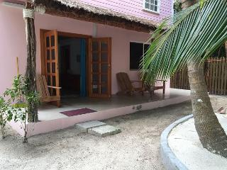 New Beach Front one bedroom cottage with AC, pool access, dock and beach. - Caye Caulker vacation rentals