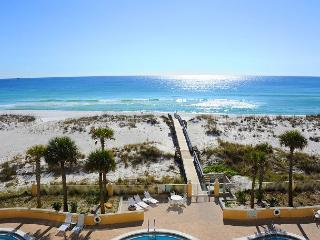 3rd fl Gulf-front w/FREE beach chairs/umbrella set-up - Pensacola Beach vacation rentals