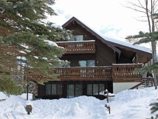 Located at Base of Powderhorn Mtn in the Western Upper Peninsula, A Large Trailside Home with 2 Large Fireplaces - Ironwood vacation rentals