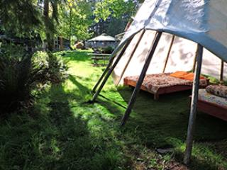 Garden Tipi with 2 meals @Yoga Sanctuary - Duncan vacation rentals