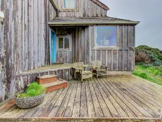 Custom, waterfront home w/ ocean views. Walk to town & the beach - dogs welcome! - Bandon vacation rentals