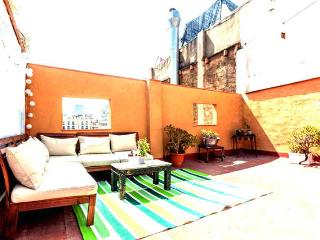 Unique apartment with big private terrace - Abrera vacation rentals