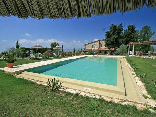 Stunning Luxury villa with private garden & pool near Florence - Montaione vacation rentals