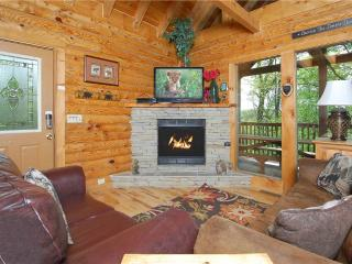 Cozy 3 bedroom Sevierville Cabin with Deck - Sevierville vacation rentals