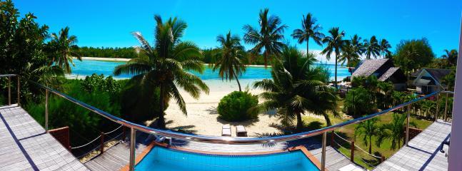 Take in the beautiful lagoon from upstairs - Navigator Muri Lagoon - Rarotonga - rentals