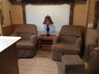 Beautiful Caravan/mobile home with Television and DVD Player - Summerland vacation rentals