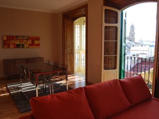 Sunny spacious apartment historic center Malaga - Malaga vacation rentals