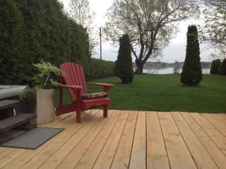 Mauricie Waterfront Property with SPA & Fireplace - Herouxville vacation rentals